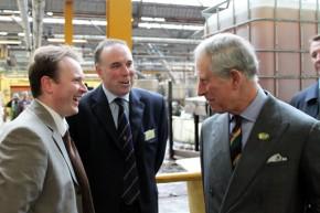HRH Prince of Wales visit